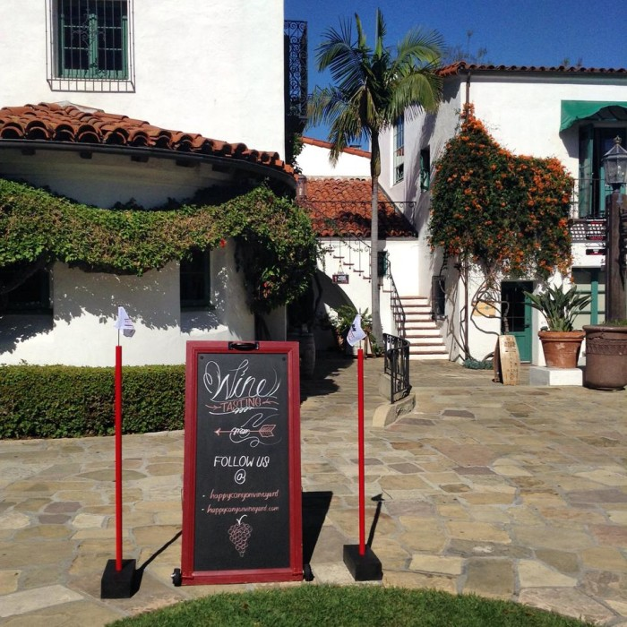 8. Happy Canyon is a family-owned vineyard and winery in Santa Barbara tucked inside the rolling hills of Piocho Ranch.