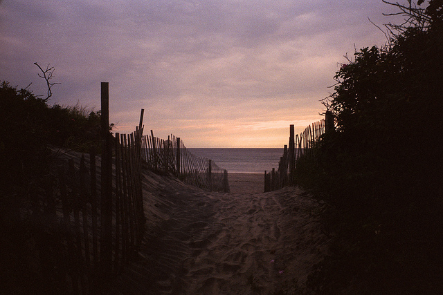 12. This image of a beach on Block Island is a classic and magical Rhode Island view.