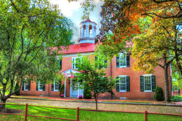 5. The first capitol of the First State, Delaware, Old New Castle is bursting with historic charm.
