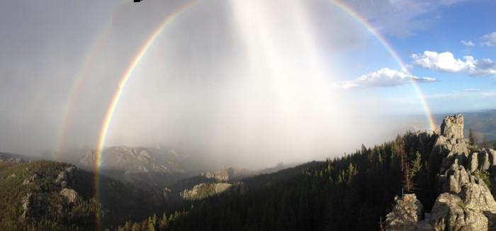 harney peak trail views