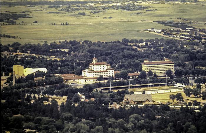 """20. """"The Broadmoor, Colorado Springs, 1969."""""""