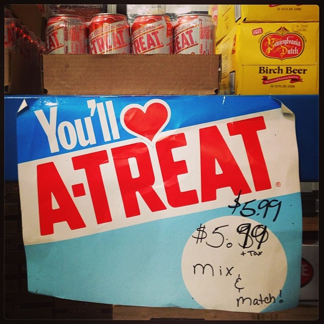6. A-Treat Soda