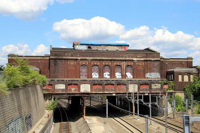 1. Century old train station, Pawtucket/ Central Falls. This chilling MBTA station has stood abandoned since the 1980s.