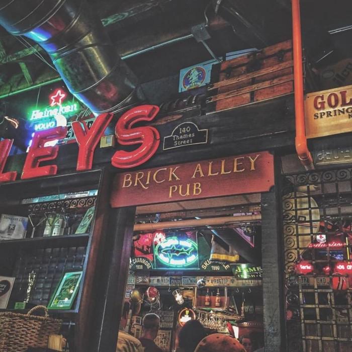 11. Brick Alley Pub, Newport