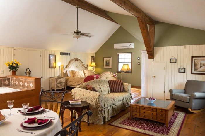 8. A local bed and breakfast