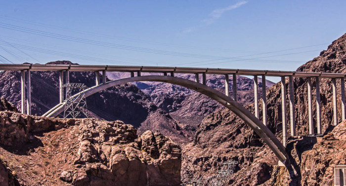 5. Mike O'Callaghan--Pat Tillman Memorial Bridge