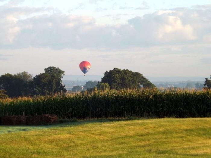6. Go for a romantic hot air balloon ride.