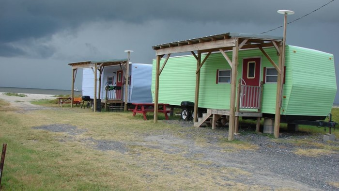 9. Relaxing at Holly Beach, the Cajun Riviera