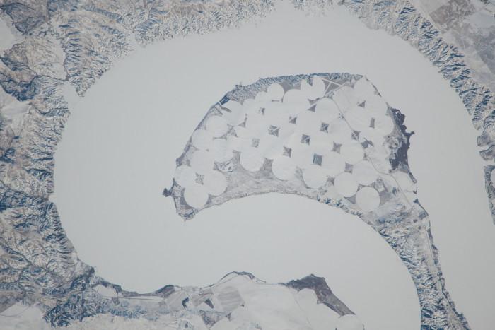 Frozen from above - spots in south dakota