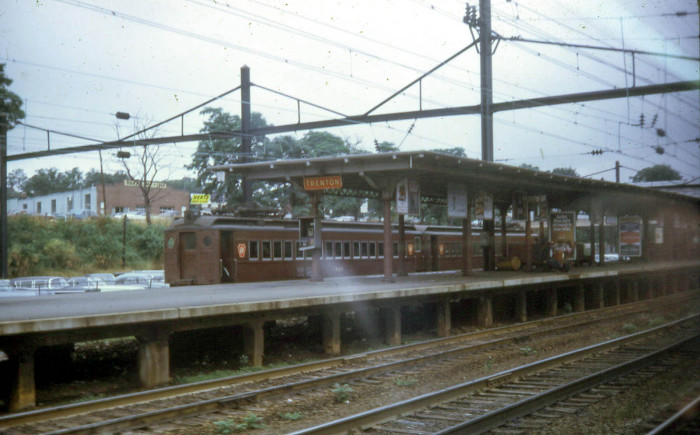 9. A Trenton, New Jersey train station in 1967.