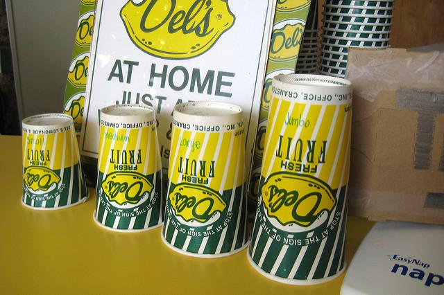 5. Del's Lemonade! Need we say more?