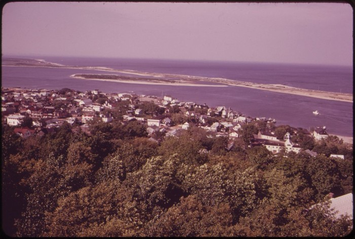 9. Sandy Hook from above circa 1973.