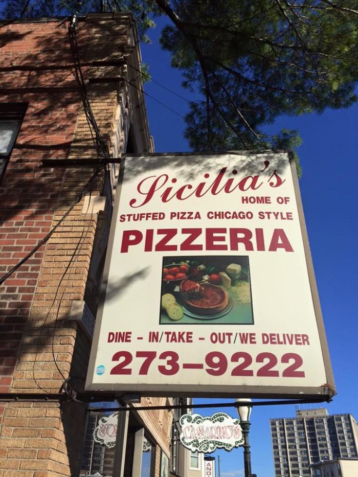 4. Sicilia's Pizzeria, Providence