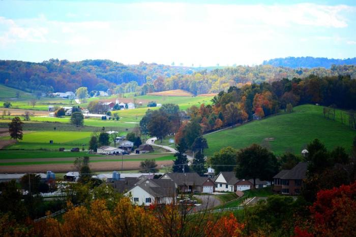1. Fall in Walnut Creek, OH