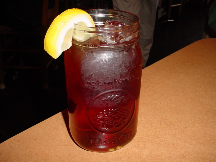 20. You know that iced tea (sweet tea) goes with just about everything.