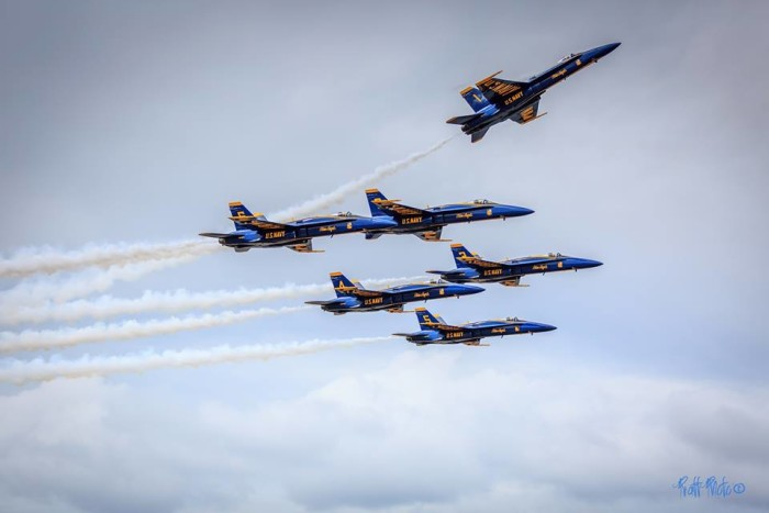21. Watching the Blue Angels fly