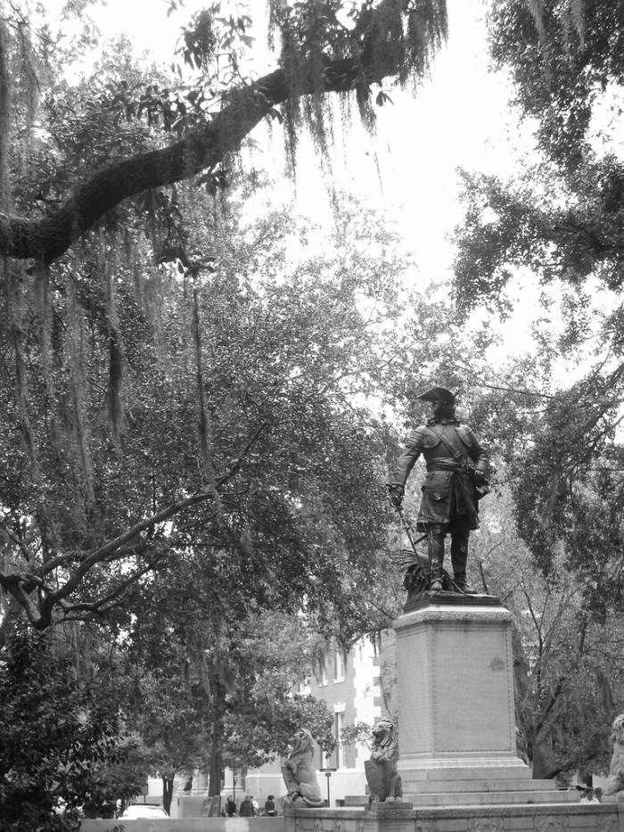3. The Founder of Georgia James E. Oglethorpe