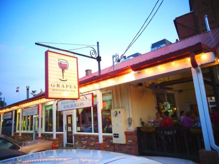 7. Grapes Restaurant, Jerome