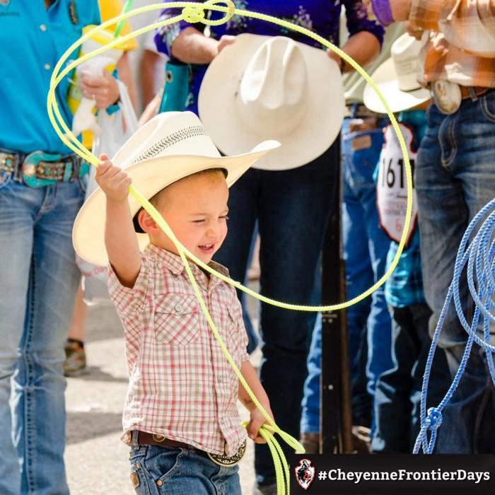 8. Cheyenne Frontier Days