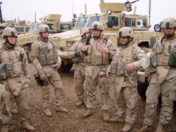 4. And current service men and women.