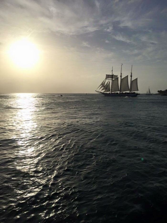 13. Smooth sailing in Key West