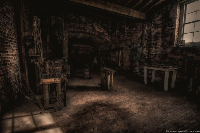 12. The blacksmith room at Fort Clinch State Park on Amelia Island
