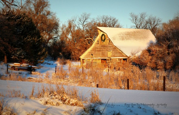 Rural Nebraska has some of the loveliest sights, like this old barn in Howard County.