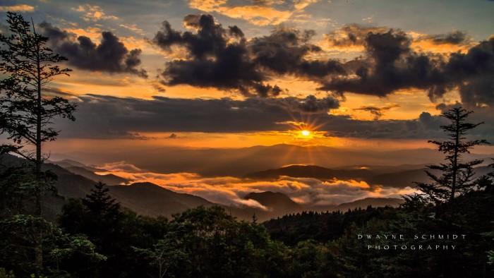 10. Early mountain morning by Dwayne Schmidt.