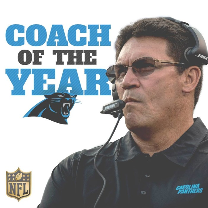 9. And none of this would be possible without the amazing Ron Rivera.