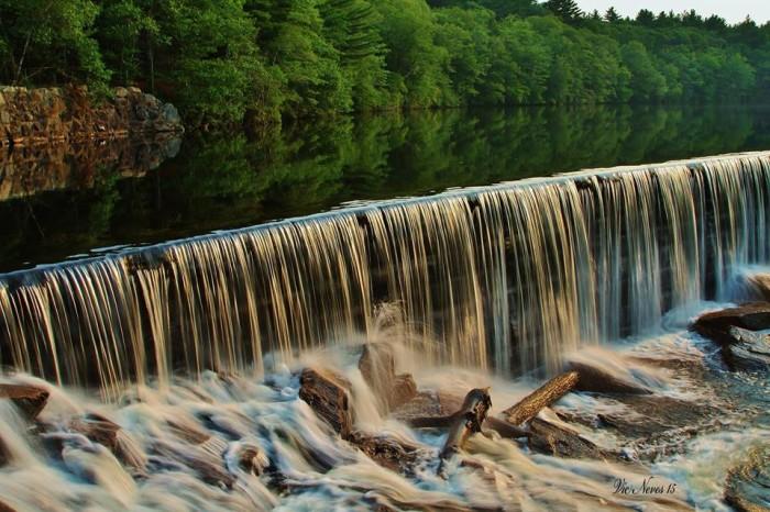 1. Ponaganset Falls, Scituate
