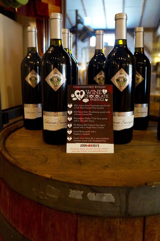8. Sample delicious wines at Chaddsford Winery.