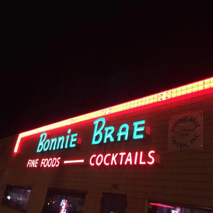 2.) Bonnie Brae Tavern (University)