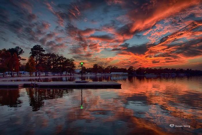 6. Sunset at White Lake by Susan Yerry.
