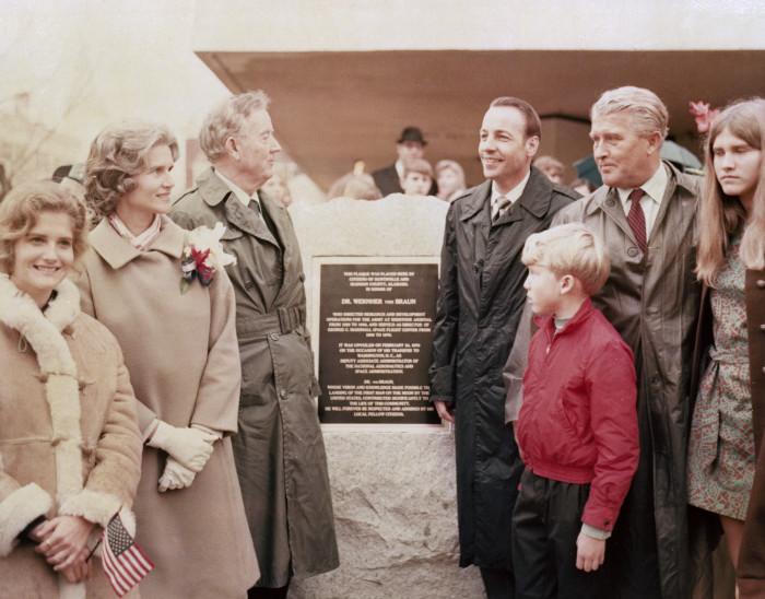 1. Von Braun's Farewell, Huntsville, 1970