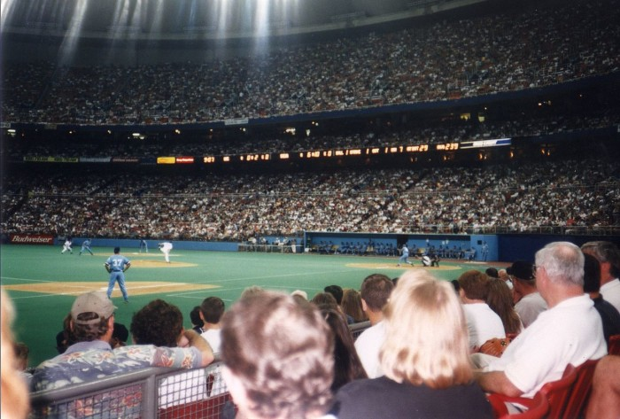 2. Seeing a game at the Kingdome.