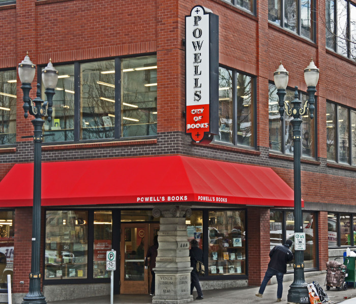 5. Portland is home to the biggest independent bookstore in the world.