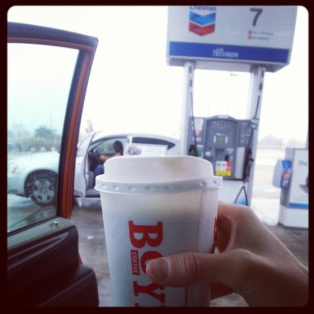 10. Gas station coffee.