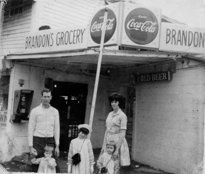 "5. Brandon's Grocery in the mid-1960's dubbed ""The Little Store""."
