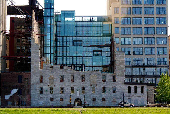 This stunning museum sits along the Mississippi River in downtown Minneapolis.