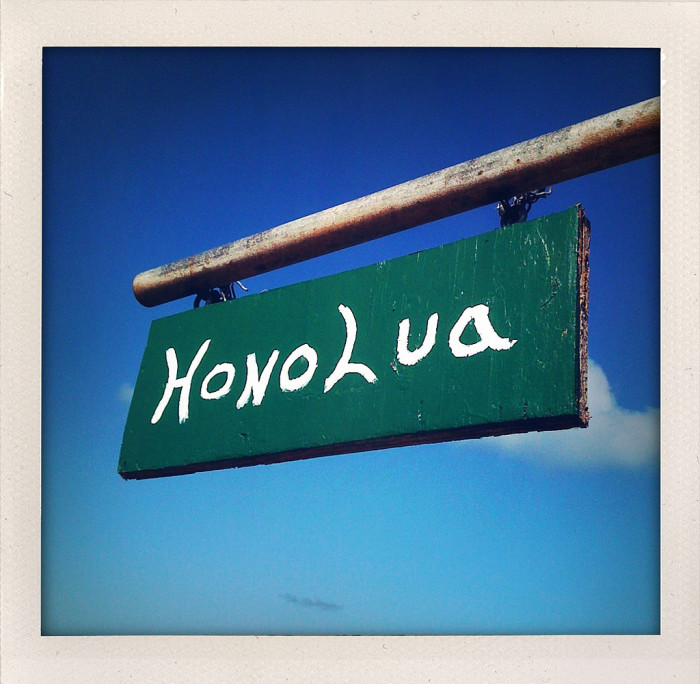 13) The Hawaiian language, when written with the English alphabet, uses only 12 letters and a symbol, the okina (').