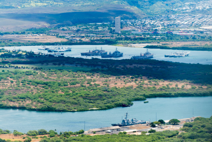It's interesting to see how much established places like Pearl Harbor have changed in the last decades.