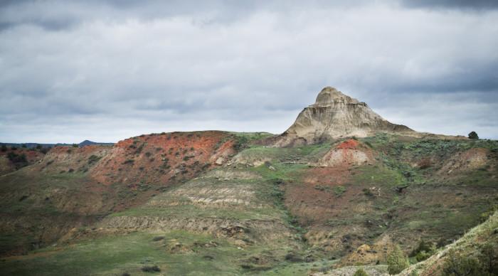 10. These hills near Scoria Point Overlook.