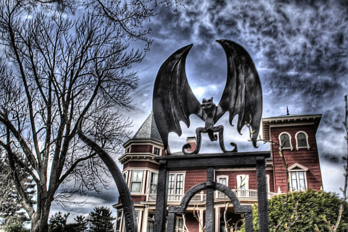 12. The scariest of all Maine houses...Stephen King's home in Bangor.