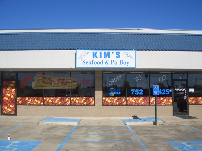 3. Kim's Seafood, Bossier City