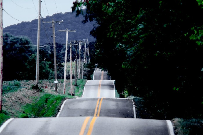 9. A country road fit for hill hopping, located in Jefferson.
