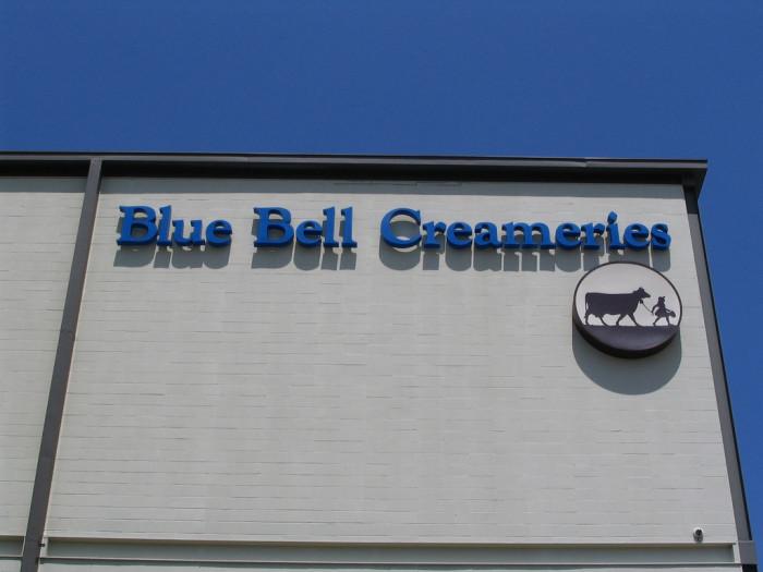 9. Visit the Blue Bell Creamery in Brenham