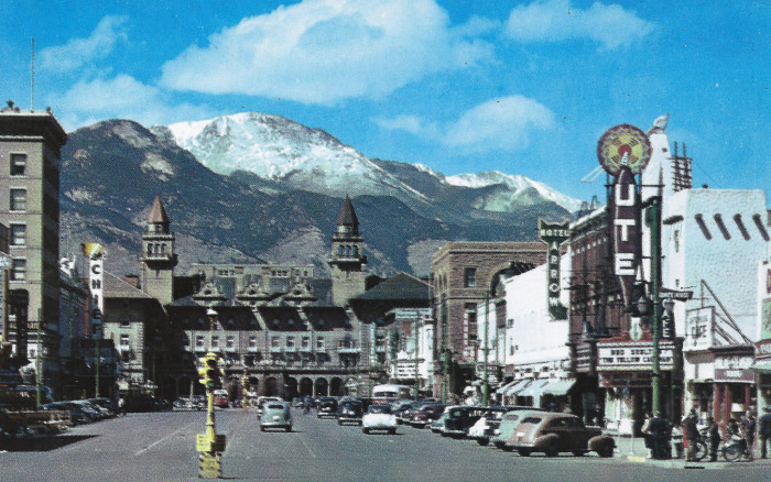 13. Colorado Springs: Antlers Hotel and Ute Theater. (1956)