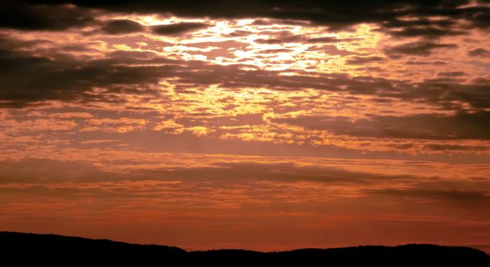 14) Cades Cove cotton candy sunrise
