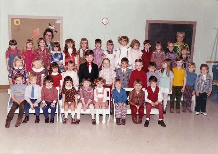 13.Preschool Photo, 1973