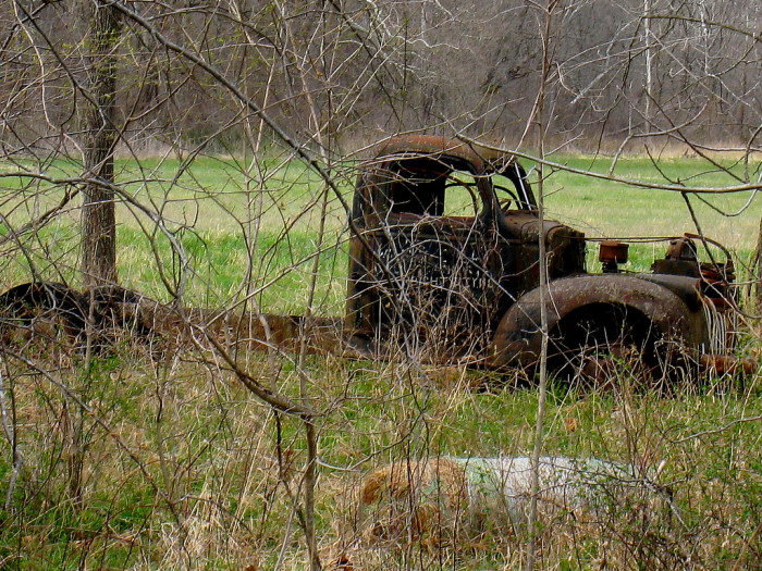 14.Rusted truck, Warrenton